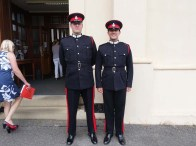 2-Cadets outside the Library