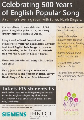 Surrey Heath Singers_2