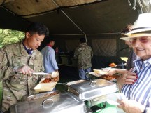 5-A Gurkha curry lunch for us