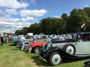 Egham Royal Show classic cars