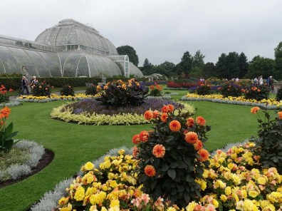 1-Flower beds by the Palm House