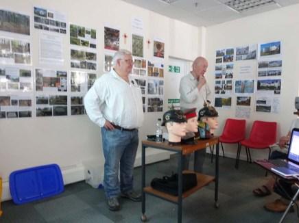 1-Roy Sellstrom BEM - on left in photo