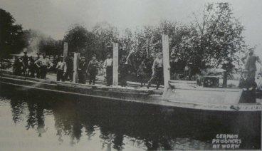 9-German POW's working on Basingstoke Canal