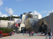 3-Front entrance to The Guggenheim Bilbao