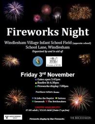 Windlesham Fireworks