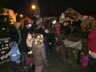 1-Gathering by the Bagshot Christmas Tree