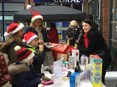 1-The LBA Tombola stall