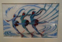 2-Skaters by Cyril Power