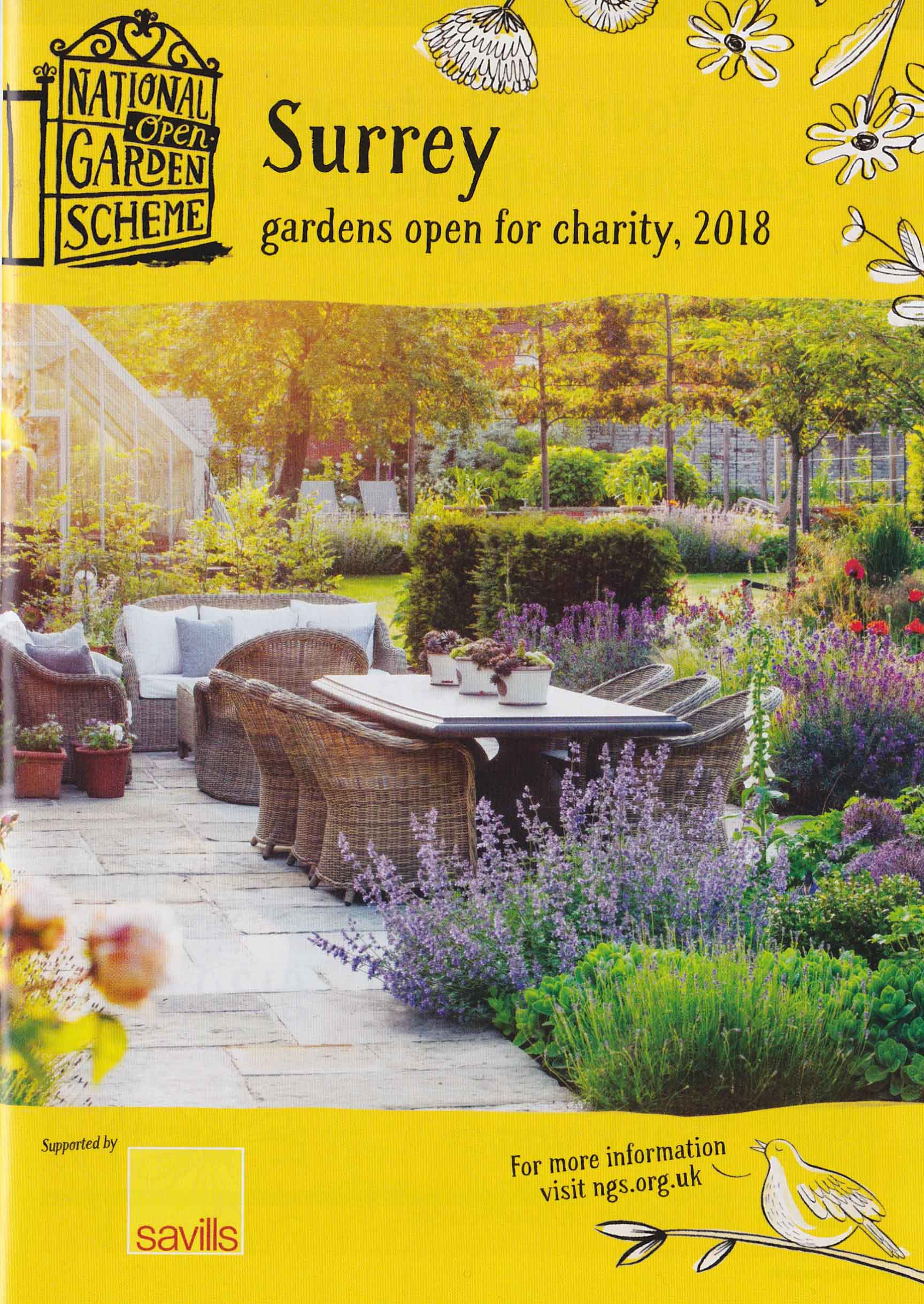 Amazing No Matter, Imagining That Easter Sunday Weather Will Be Much Like Today.  Two Surrey Gardens Open Tommorrow For The National Garden Open Scheme Both  Offer ...