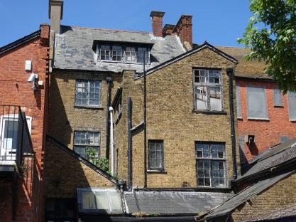 Rear of buildings on London Road_1