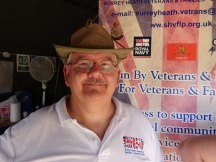 6-Roy Sellstrom at SHV & F-LP stand at RLC Open Day