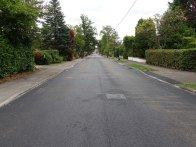 3-Ambleside Road with its final layer of tarmac