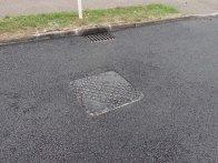 4-Ambleside Road with its final layer of tarmac