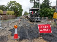 6-Final stretch of Ambleside Road waiting for tarmac layers
