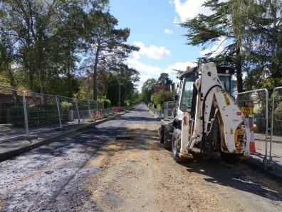 Ambleside Road roadworks_1
