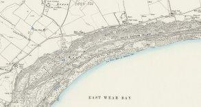 6-Folkestone Warren map 1897