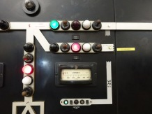 7-Close up of board and electrical current meter