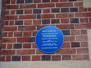 Bisley Village Hall Blue Plaques (10)