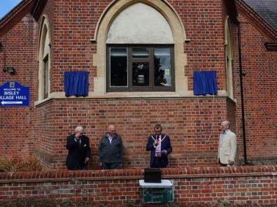 Bisley Village Hall Blue Plaques (8)