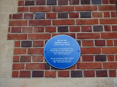 Bisley Village Hall Blue Plaques (9)