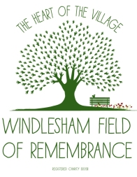 Windlesham Field of Remembrance logo