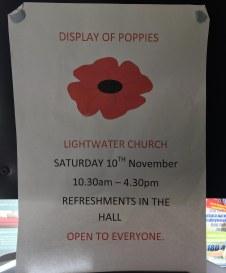 Poppy Cascade display