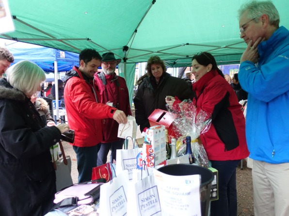 15c-Lightwater Business Association tombola stall