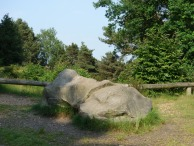 2-Sarsen stone on High Curley Hill in Lightwater