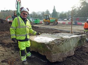 8-Sarsen stone moved
