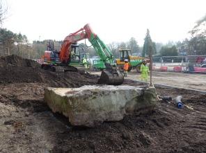 9-Sarsen stone moved