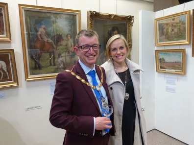 1-The Mayor opens the exhibition