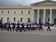 13-Massed Bands on Church Lads & Girls and Sandhurst Corps of Drums