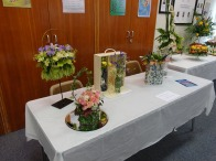 13-U3A Flower Arranging Group display