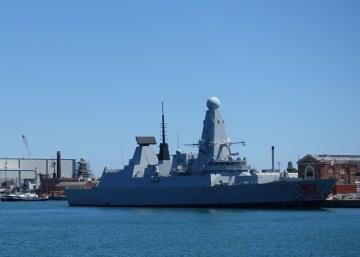 HMS Dragon D35