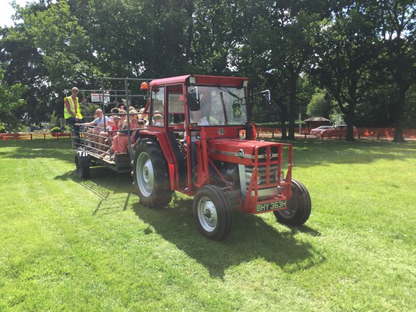 12-Tim Price's tractor rides