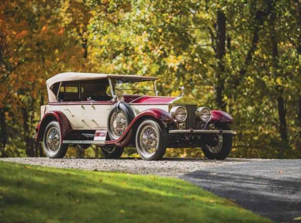 1926 Rols-Royce Silver Ghost Pall Mall Tourer
