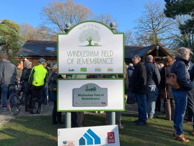 Windlesham Community Hub opening ceremony_1