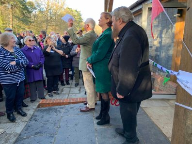 Windlesham Community Hub opening ceremony_3