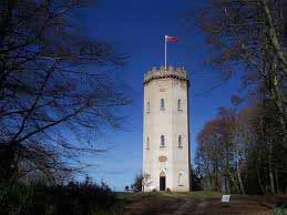 12- Nelson's Tower in Forres, Scotland