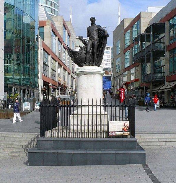 14-Nelson_Statue_Birmingham photo by memorino