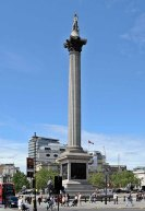 6-Nelson's_Column in Trafalgar Square photo by Beata May