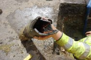 2014 June -Water leak repair-1