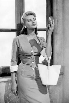 Sophia Loren - Italian fashion