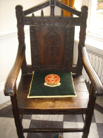7-Frimley Park Mansion - 1723 chair