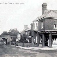 Park Street Stores in 1921