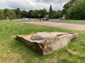Sarsen stone on the Maultway